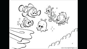 Cool Nemo Coloring Book Q9194 Vast Finding Nemo Free Printable