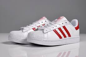 adidas shoes 2016 for men red. latest 2016 adidas superstar men casual shoes white red for m