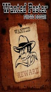 Make A Wanted Poster Free Online Wanted Poster Pro Photo Booth Take Reward Mug Shots For
