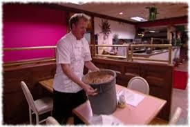 gordon ramsay breaks table with bin full of beans while closing down fiesta sunrise restaurant
