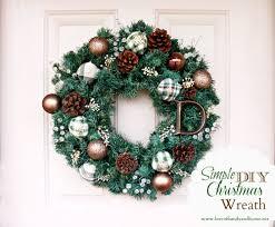 Simple DIY Christmas Wreath Tutorial