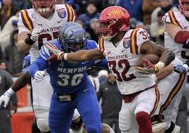Ncaa Football Liberty Bowl Iowa State Vs Memphis