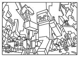 Coloring Pages Minecraft Coloring Pages Axe Creeper