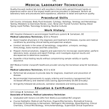 Lab Technician Resume Sample Technician Resume Sample Fungramco 76