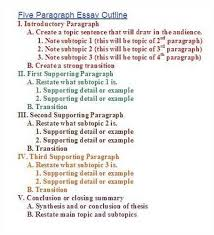 write an essay outline great college advice write an essay outline