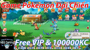 Game Mobile Private Pokemon Đại CHiến | Free VIP | 100000KC