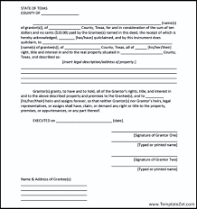 quick claim deed form texas texas quit claim deed form templatezet