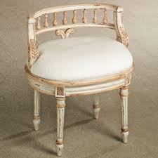 queensley vanity chair antique ivory