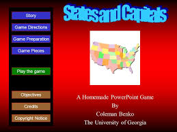 A Homemade Powerpoint Game By Coleman Benko The University Of