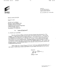 Letter Of Employee Layoff
