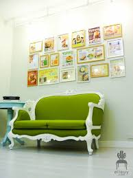 home office repin image sofa wall. Green Home Office, Chic Girly Built-in Shelves, Fun Office Repin Image Sofa Wall T