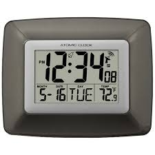 digital office wall clocks digital. Amazon.com: La Crosse Technology WS-8008U-IT Atomic Digital Wall Clock With Temperature: Home \u0026 Kitchen Office Clocks