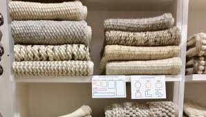 new from akara rugs the wool custom collection at las vegas market