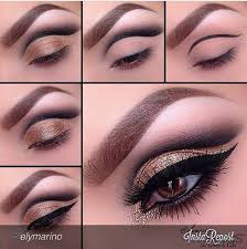 glitter eye makeup tutorial dramatic arabic with these step by tutorials you will look extra special