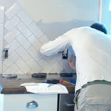 install wall tile backsplash how to lay wall tiles in kitchen how to  install subway tile