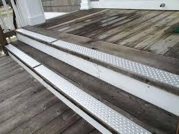 outside stair treads treads non slip treads silver outside stair treads