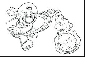 Free Mario Coloring Pages To Print Bros Online Super Odyssey Captain