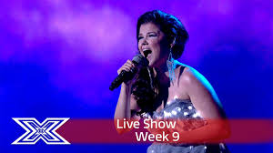saara aalto lights up the stage with sia s chandelier semi final the x factor uk 2016 you