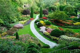 landscaped garden definition and