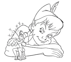 Small Picture free tinkerbell and peter pan coloring pages tinkerbell and peter