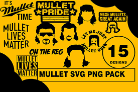 Download icons in all formats or edit them for your designs. 1 Mullet Svg Png Designs Graphics