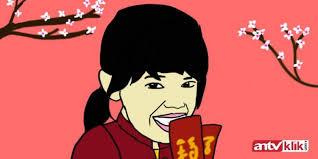 Image result for gambar cartoon imlek