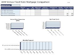 Arm Vs Fixed Mortgage Rate Comparison