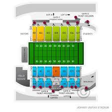 Johnny Unitas Stadium Seating Chart Johnny Unitas Stadium 2019 Seating Chart