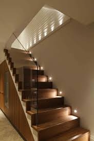 stair lighting. 25 Beautiful Painted Staircase Stair Lighting I