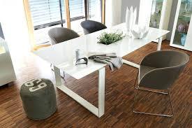 Esstisch Glas Weiss Balian Designer Ausziehbar Rund Novel Tisch