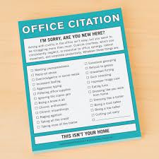 fun office accessories. Knock Office Citation Nifty Notepads Are Funny Supplies, Gifts For Coworkers. Fun Accessories O