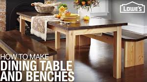This post contains affiliate links. How To Make A Diy Dining Table Set Lowe S