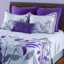Purple And White Comforter Sets 7Pcs Queen Renee Bedding Set 3 ... & Purple And White Comforter Sets Bedroom Ideas 7 Adamdwight.com
