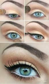 natural make up step by step