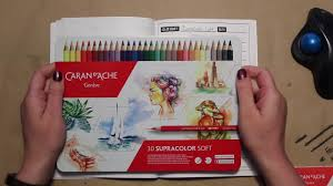 Supracolor Color Chart Supracolor Pencils 30th Anniversary Limited Edition