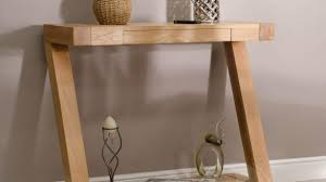 small hallway table. Adorable Z Shape Solid Oak Hall Console Table Furniture UK Small Hallway Tables L