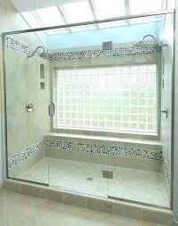 Broken Window Glass Blocks Bathroom Block Windows Burglars