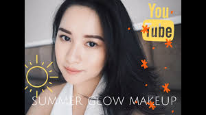 summer glow makeup without eyeliner