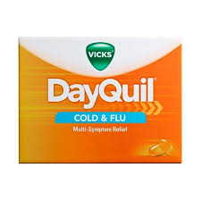 Dayquil Cold Flu Relief Liquicaps Vicks