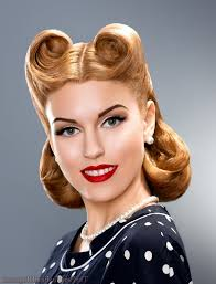 Pin Ups Hair Style pin up updo hairstyles for long hair updo pin up hairstyles black 7457 by wearticles.com