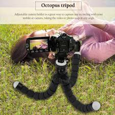 <b>Mini Octopus</b> Flexible Sponge <b>Tripod Bracket</b> Stand <b>Mount</b> Camera ...
