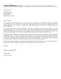 Example Of Resume Cover Letter For Nurses Adriangatton Com