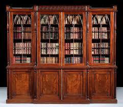 Antique Bookcase Furniture Elegant Furniture Design