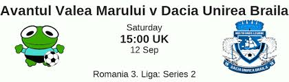 You can also compare h2h statistics and bookmaker bonus for the specific event. Avantul Valea Marului Vs Dacia Unirea Brăila H2h Total Goals Btts And Team Stats