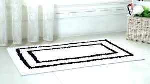 red black and white bath rug bathroom rugs cool set home