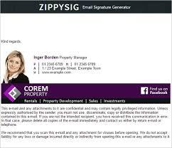 Email Signature 33 Best Email Signature Generator Tools Online Makers
