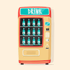 Types Of Vending Machine Locks Cool Vintage Vending Machine Advertisement Poster With Snacks And