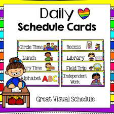 Whether you are looking to stay organized, just starting out on your homeschool journey, or have a child with special needs, visual schedules work great. Printable Visual Daily Routine Preschool Daily Routine Printables Simple Living Creative Learning Free Printable Toddler Visual Schedule That Can Also Be Used As A Preschool Visual Schedule