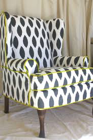 furniture enjoy your chairs new look using wing chair slipcover brahlersstop