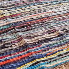 large rag rug colorful ss 6 area rug hand woven chind